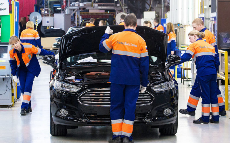 Ford passenger car production will discontinue in Russia by the end of June