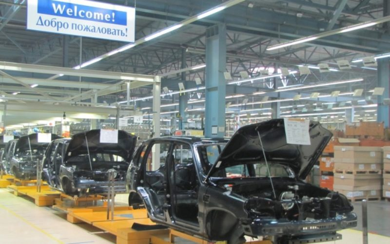 Russian car production has shrunk by 17% in February