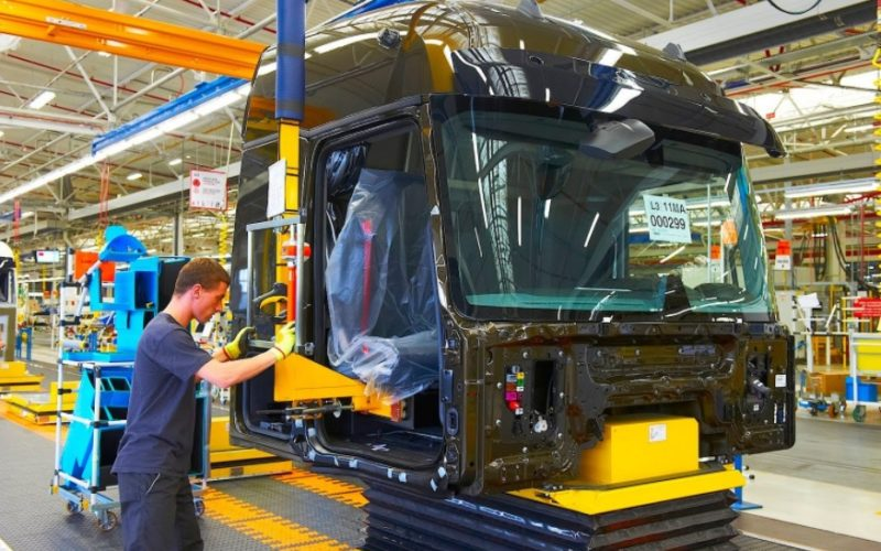 Truck production in Russia has risen by 4.4%