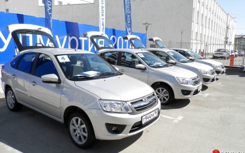 Yekaterinburg vehicle market has shrunk by 26% in September