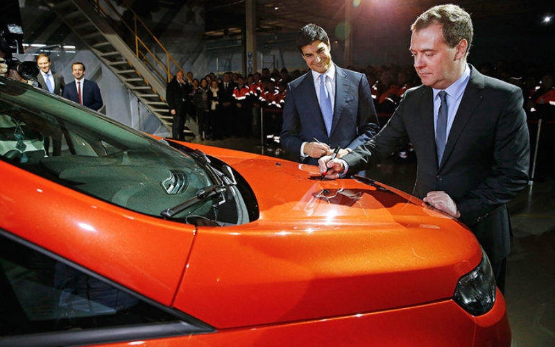 Russian government is renewing its strategy in the automotive sector