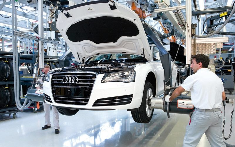 Volkswagen Kaluga has discontinued the production of three Audi models