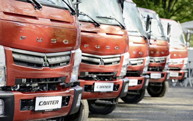 Mitsubishi Fuso has stopped truck production in Russia