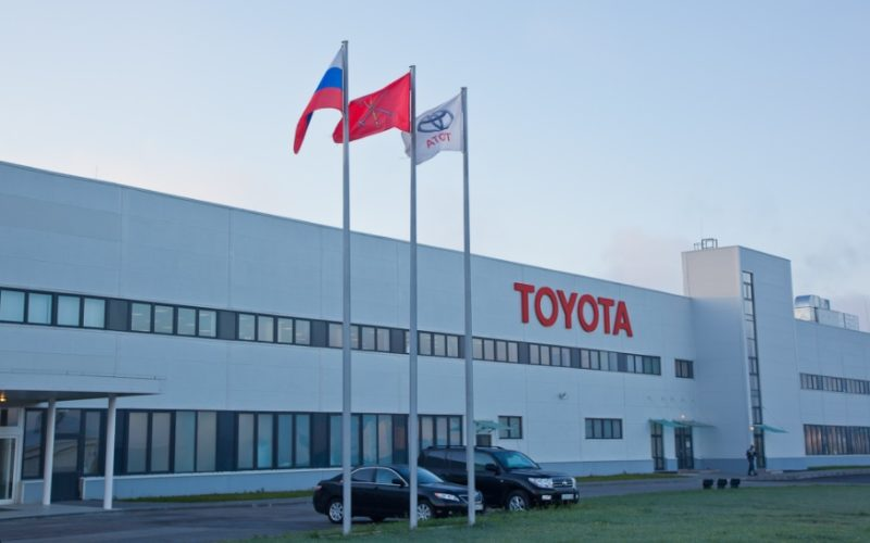 Toyota wants to establish an utilisation plant near Moscow