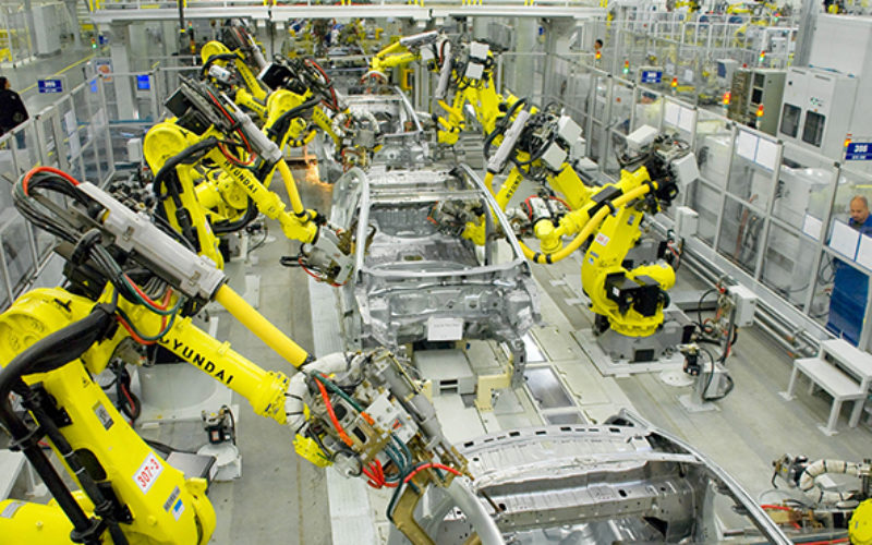 St. Petersburg Hyundai factory has increased production by 4% in 2014