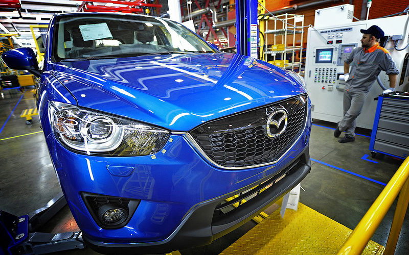 Mazda-Sollers has lost its right to import customs-free components