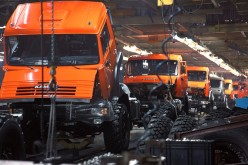 Kamaz has manufactured 4400 trucks in October 2012