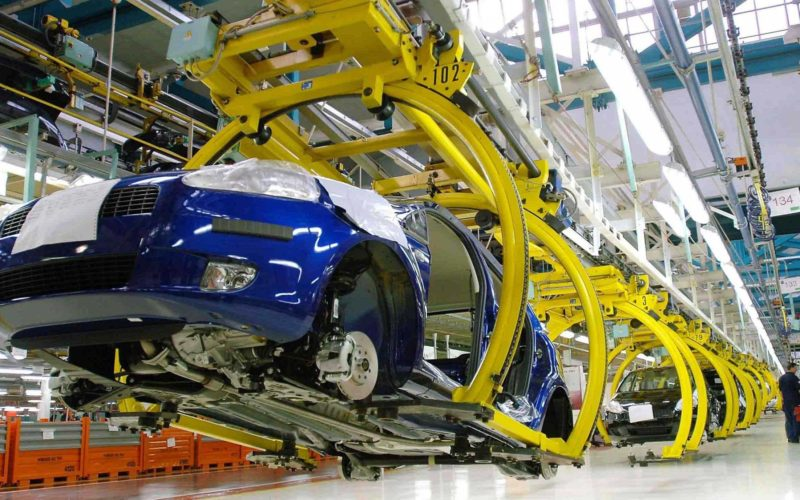 Passenger car production in Russia has risen by 42% in August 2016