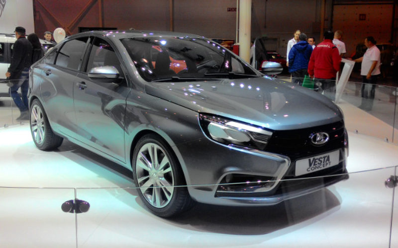 The structure of Russian automotive in 2015