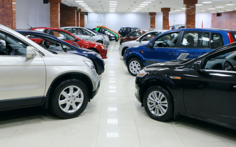 The number of car sales points in Russia has exceeded 4000