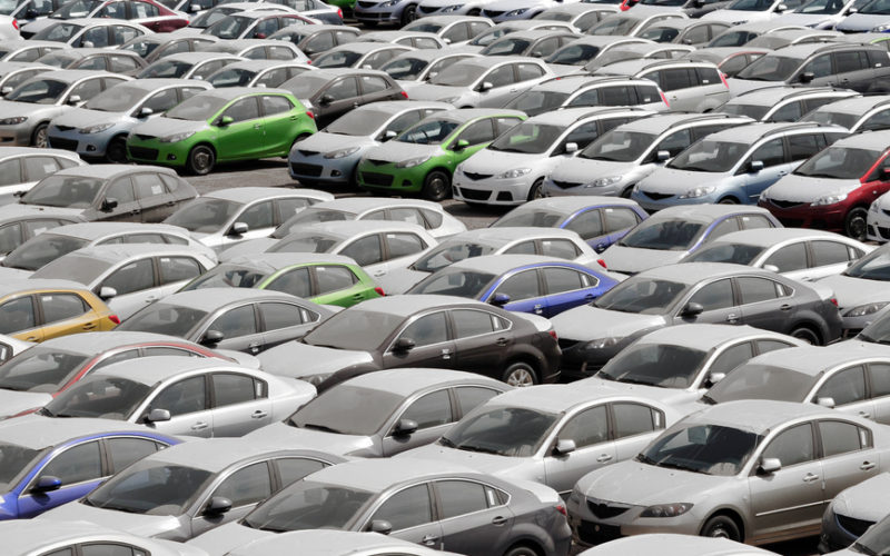 Automobile imports have declined by 15% in Russia during the first six months