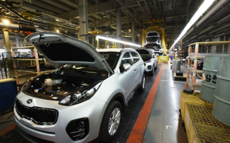 Car production in Russia has grown by 21.5% in March