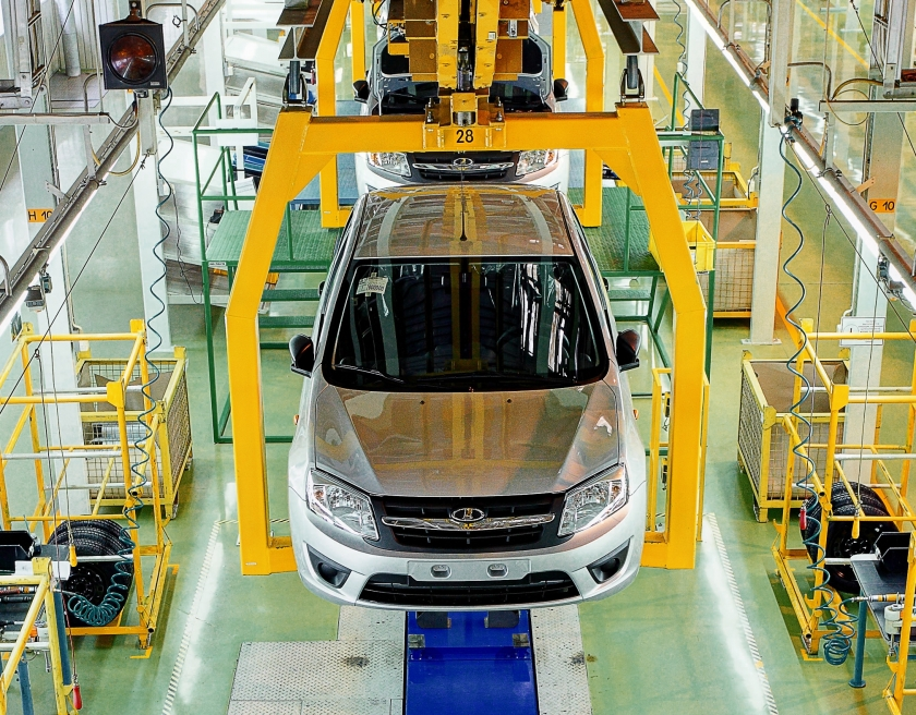 revenue of AVTOVAZ - car production in Russia - Lada - production in Kazakhstan
