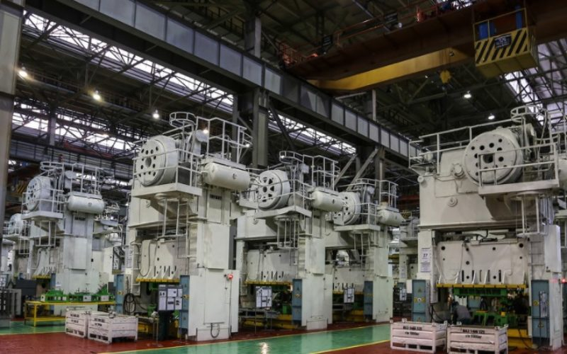 Press lines of AVTOVAZ have returned to five-days schedule