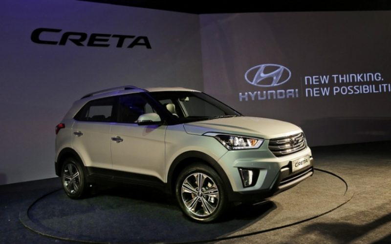 The Russian plant of Hyundai has started the serial production of Creta crossover