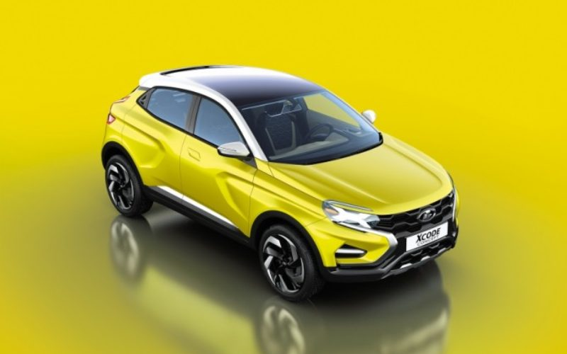 AVTOVAZ has presented its conceptual crossover Lada XCODE