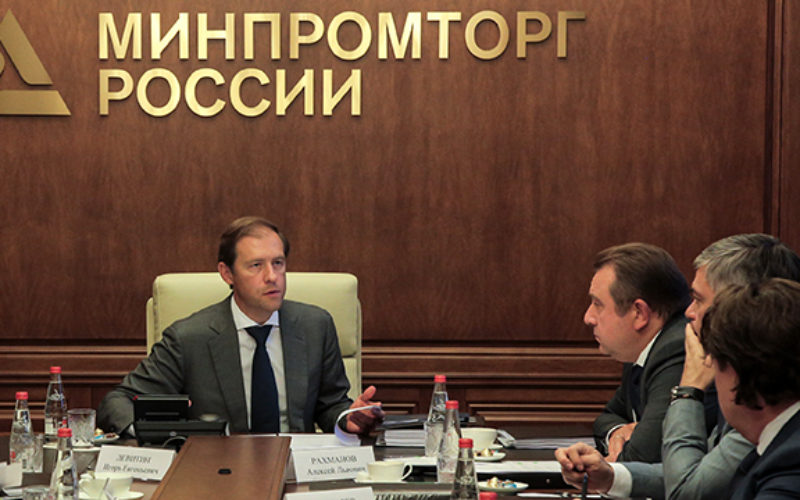 The sanctions have spurred the Russian industry according to the government