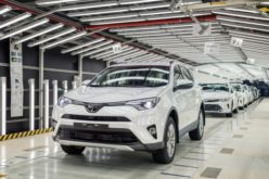 Production has fallen by 6.7% at St. Petersburg Toyota factory, by the end of the first six months