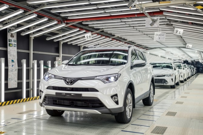 St. Petersburg Toyota plant - Toyota Camry - Special Investment Contracts