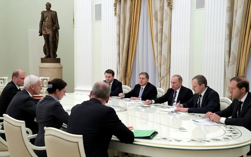 President Putin has met the VW CEO Matthias Müller