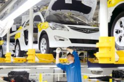 Production has fallen by 6.3% at Hyundai St. Petersburg factory by the end of the first six months