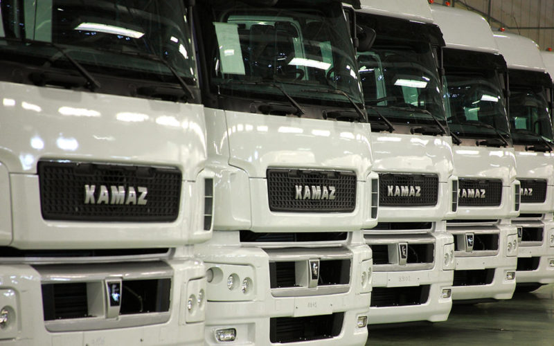 Truck sales have gone down by more than a half in Russia in May