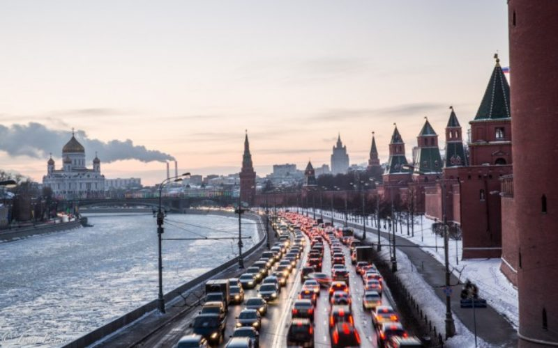 The average automobile age is 12.4 in Russia