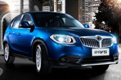 Derways has started the production of the updated Brilliance V5 crossover
