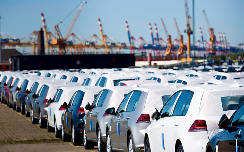 Passenger car exports have increased by 10% in 2018