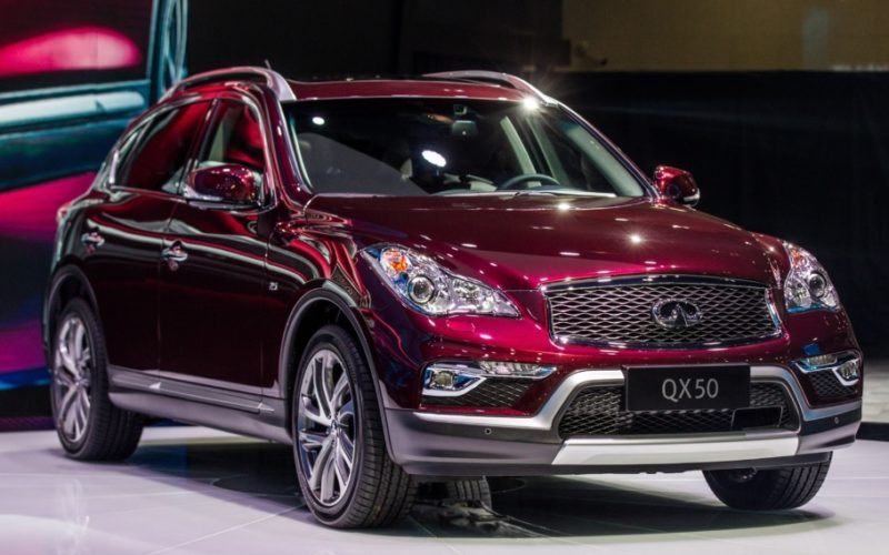 Infiniti sales in Russia up by 16%