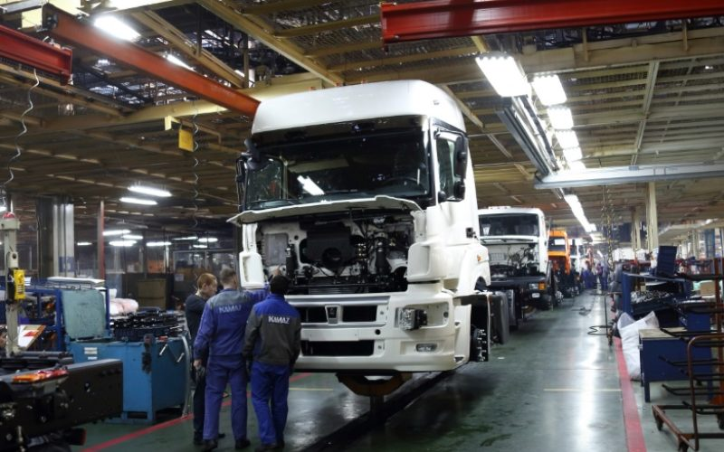 Vehicle production has increased by 20% in Russia within the January-May 2017 period
