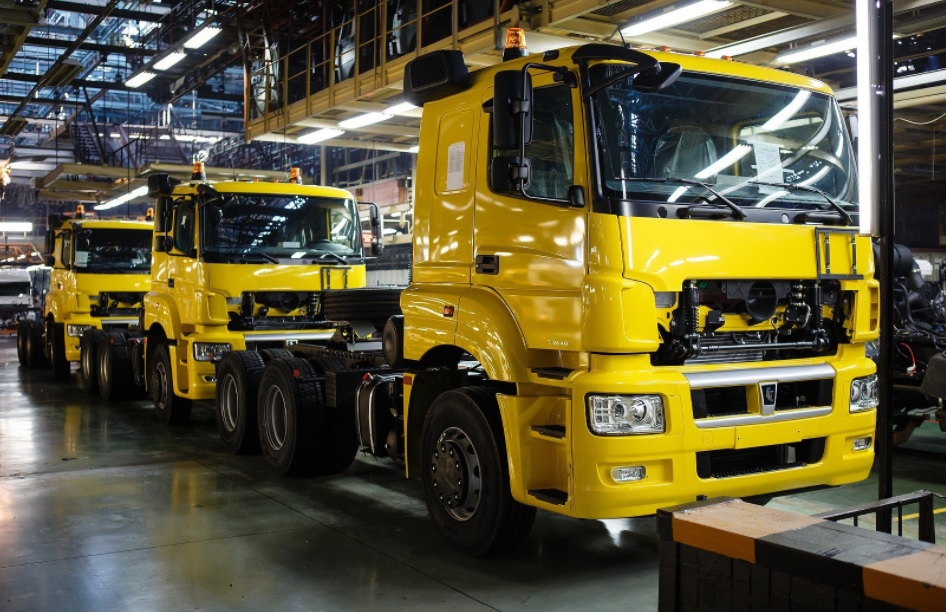 KAMAZ and Daimler - Car production