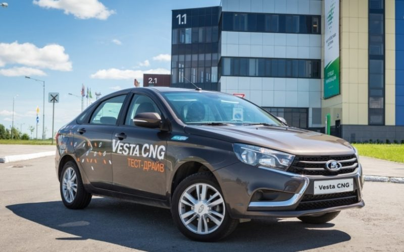 The serial production of LADA Vesta CNG has begun