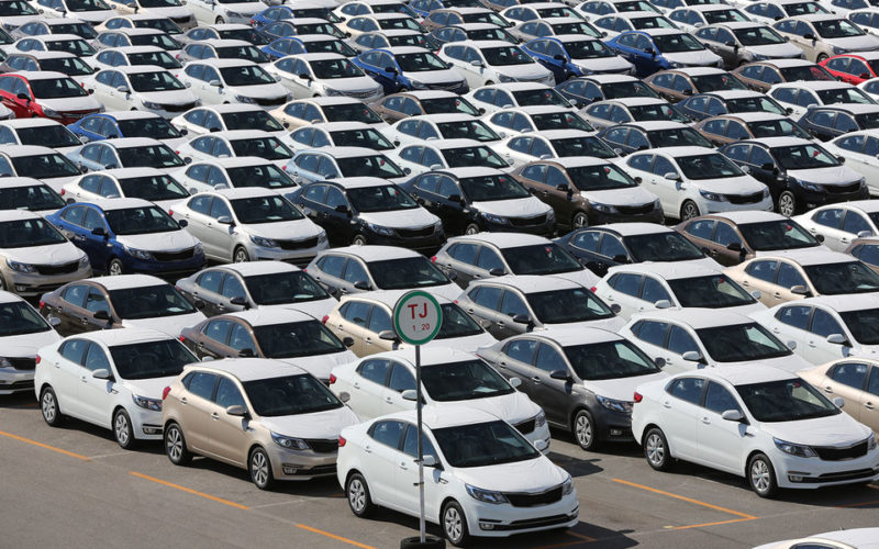 Passenger car exports have risen by 126.5%
