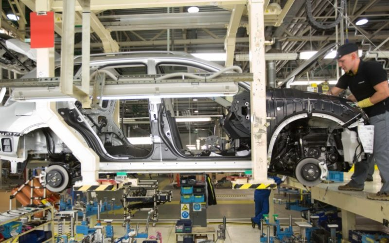 Vehicle production in Russia has increased by 19% in 2017