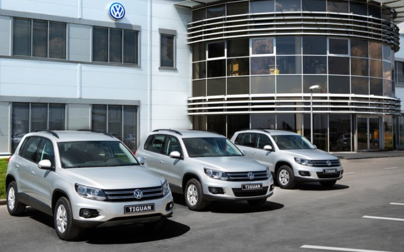 A new production record in Russia: 150,000 Volkswagen Tiguan
