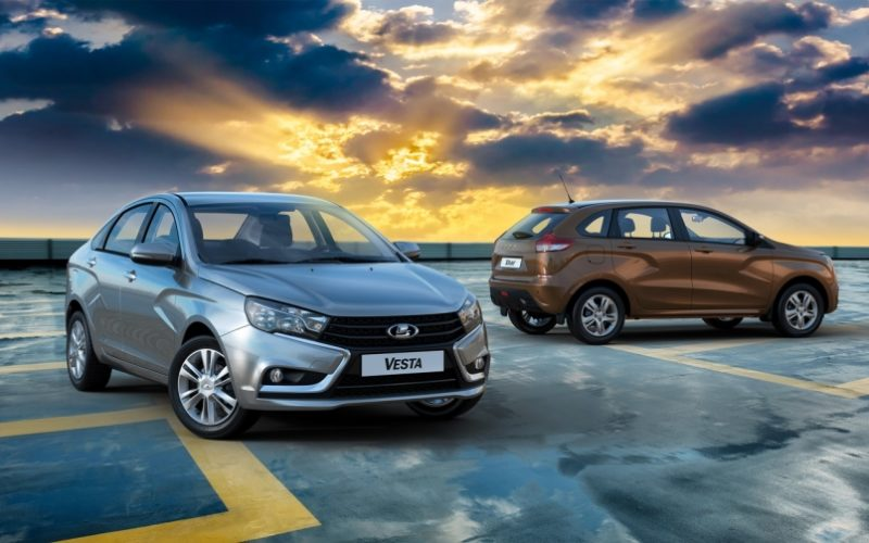 Lada sales up by 13% in the first half of 2017