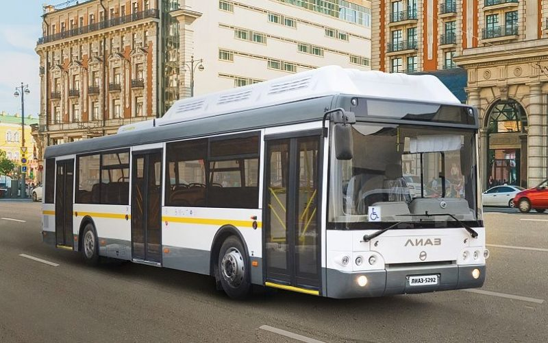 LiAZ has supplied the Moscow Region with more than 600 Russian buses