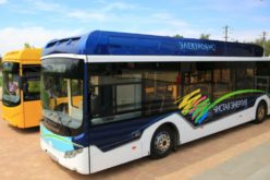 The first Volgabus electric bus has been introduced