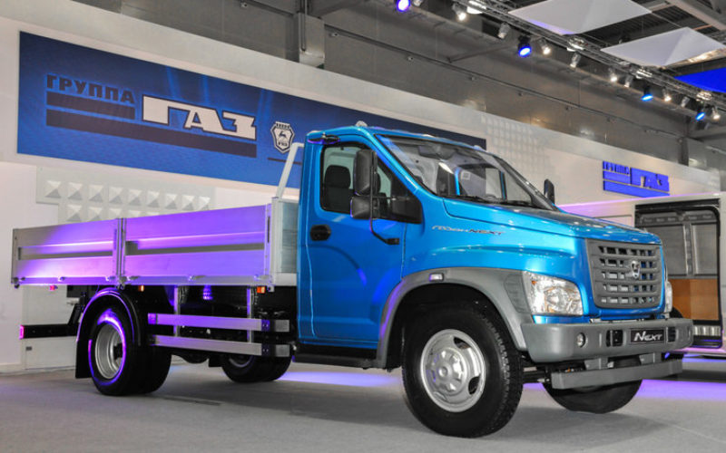 Russian truck market has declined by 3% in October 2018