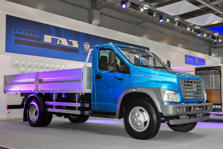GAZ GAZon NEXT - Russian truck market