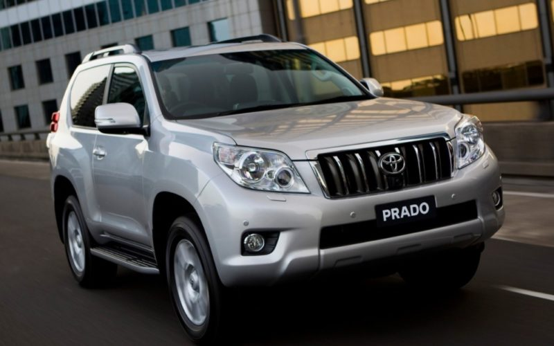 Toyota has started the serial production of Land Cruiser Prado in Vladivostok