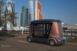 Russian driverless vehicle Matryoshka has been presented at Frankfurt Motor Show 2017