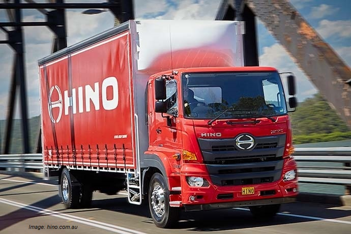 Truck imports - Hino Truck1 - truck production