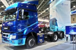 Russian truck market has increased by 20% in April 2018