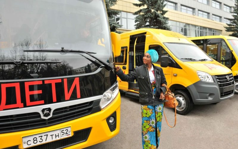 GAZ Group will supply GAZelle NEXT school buses to Ghana