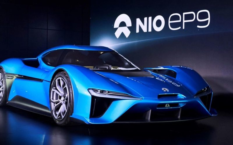 Russia has invested in the Chinese electric vehicles developer NIO
