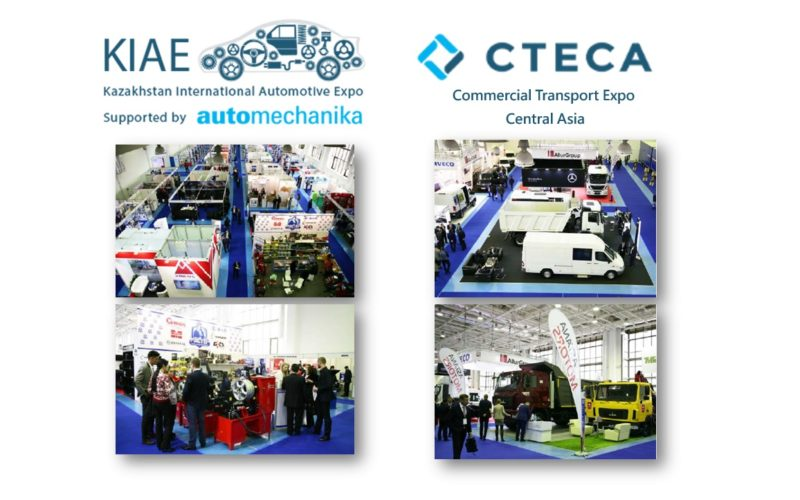 Automotive exhibitions in Astana: KIAE supported by Automechanika and CTECA Commercial Vehicles