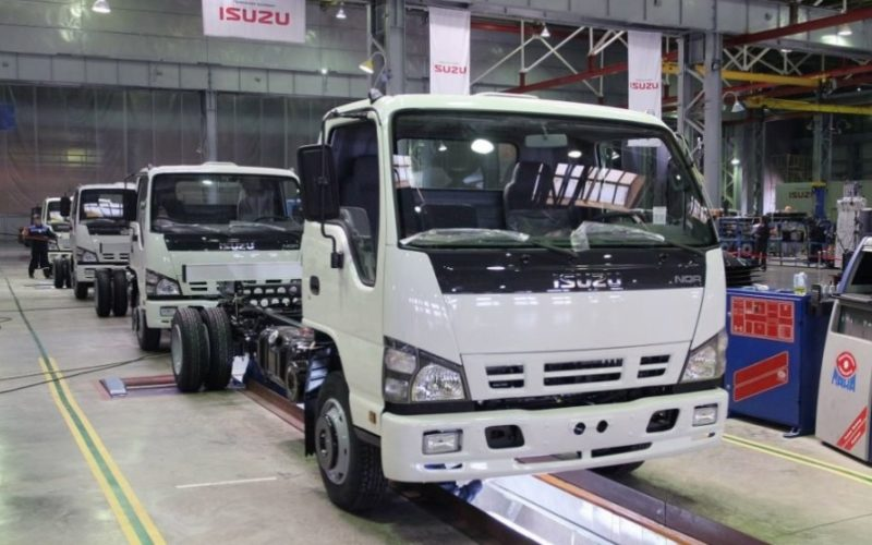 The construction of the new plant of Sollers-Isuzu will start in 2018