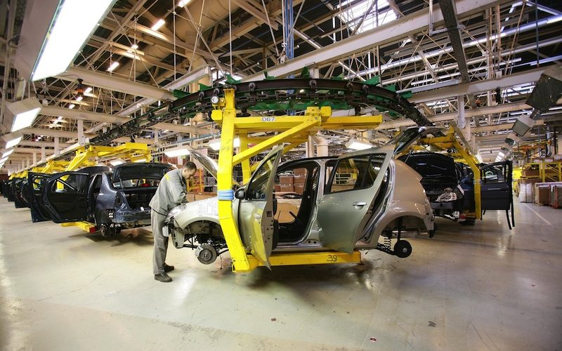 Government expects 10% growth in car production in Russia in 2018